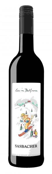 """Sasbacher Leo Wein """"Leo in BESTFORM"""" Rotwein-Cuvée QbA trocken"""