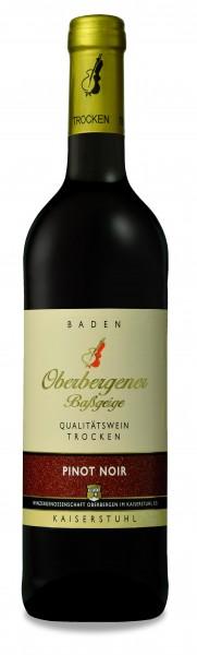 Oberbergener Baßgeige Pinot Noir trocken QbA