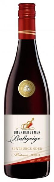 Oberbergener Baßgeige Spätb. Rotwein Kabinett trocken