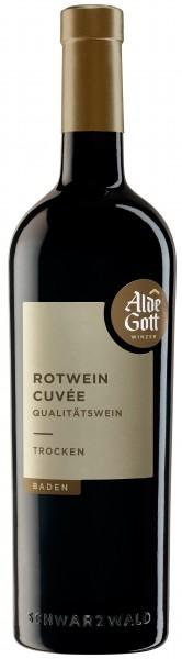 """Sasbachwaldener Alde Gott Rotwein Cuvee QbA trocken """"Eichenfass"""""""