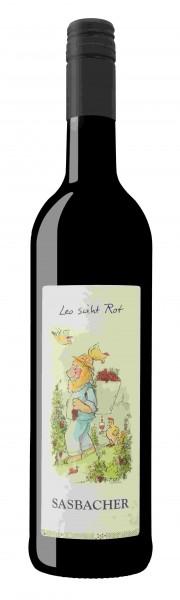 """Sasbacher Leo Wein """"Leo sieht ROT"""" Rotwein-Cuvée QbA lieblich"""