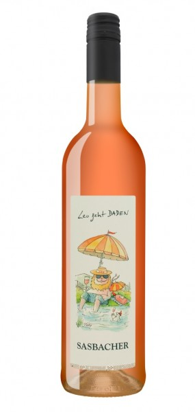 "Sasbacher Leo Wein ""Leo geht BADEN"" Rosé-Cuvée QbA trocken"