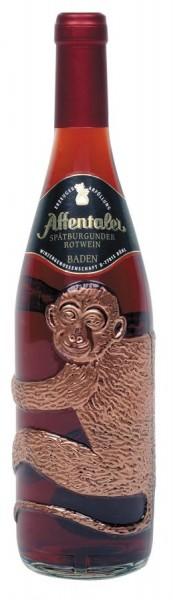 """Affentaler Spätb. Rotwein QbA in der """"Affenflasche"""""""
