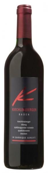 Kiechlinsberger Ölberg Spätb. Rotwein QbA trocken -Barrique-
