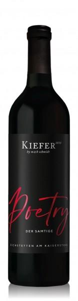 Kiefer Poetry Rotwein-Cuvée QbA halbtrocken