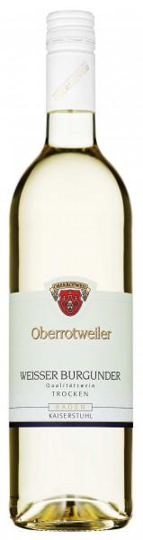 Oberrotweiler Weißer Burgunder QbA trocken