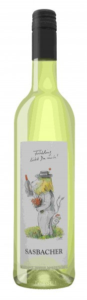 """Sasbacher Leo Wein """"Frühling liebst Du mich?"""" Weisswein-Cuvée QbA trocken"""