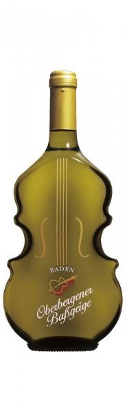 Oberbergener Baßgeige -Geigenflasche- Grauer Burgunder Spätlese trocken