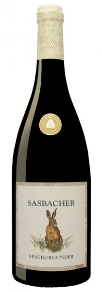"""Sasbacher """"Jäger Wein"""" Rote Halde Spätb. Rotwein QbA trocken"""