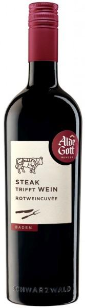 """Alde Gott """"Steak trifft Wein"""" Rotwein Cuvée QbA halbtrocken"""