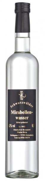 Badisches Mirabellenwasser 42% Vol.