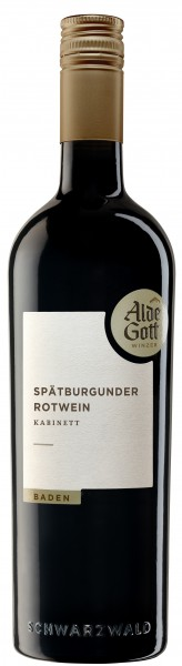 Sasbachwaldener Alde Gott Spätb. Rotwein Kabinett