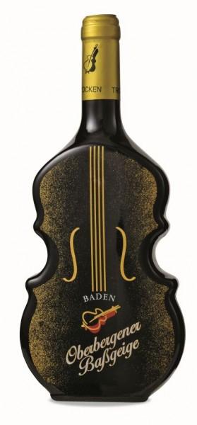 Oberbergener Baßgeige -Geigenflasche- Spätb. Rotwein Spätlese trocken