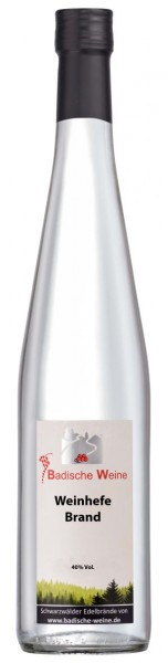 Badische-Weine Hefebrand 40% Vol.