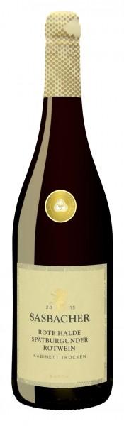 Sasbacher Rote Halde Spätb. Rotwein Kabinett trocken