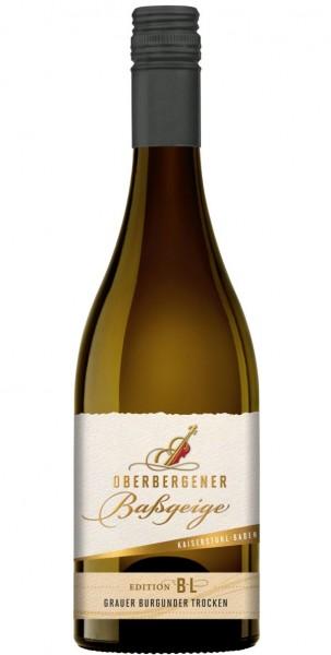 "Oberbergener Baßgeige ""BESTE LAGE"" Grauer Burgunder Spätlese trocken"