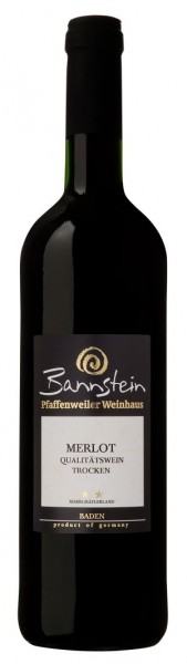 Pfaffenweiler Bannstein Merlot QbA trocken