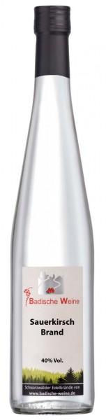 Badische Weine Sauerkirschbrand 40% Vol.
