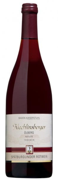 Kiechlinsberger Ölberg Spätb. Rotwein Auslese trocken
