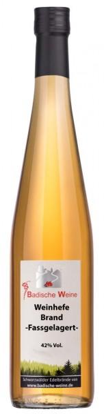 Badische Weine Hefebrand Fassgelagert 42% Vol.