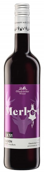 Oberkircher OK 51 Merlot QbA trocken