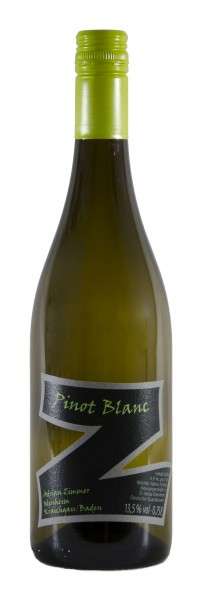 Zimmer Pinot Blanc QbA trocken
